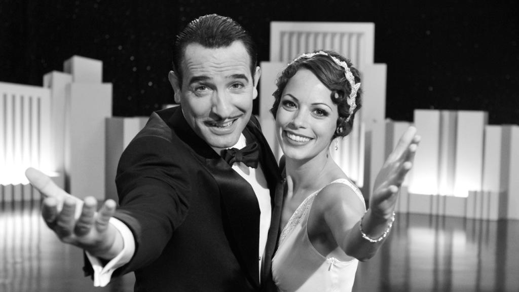 Jean Dujardin en Bérénice Bejo in The Artist
