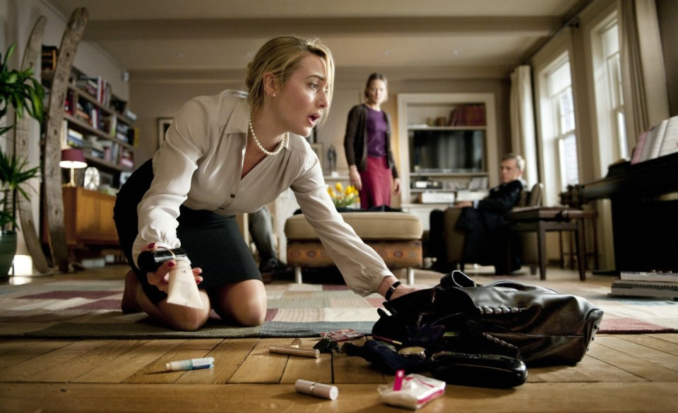 Kate Winslet flipt in Carnage