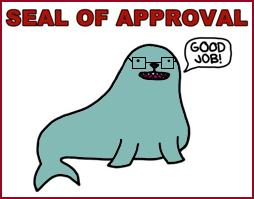 SealOfApprovalmetbril