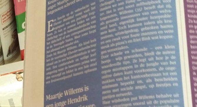 """""""Maartje Willems is een jonge HendrikGroen"""""""